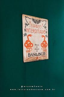 Imagem hamburgueria/restaurante harry potter banheiro