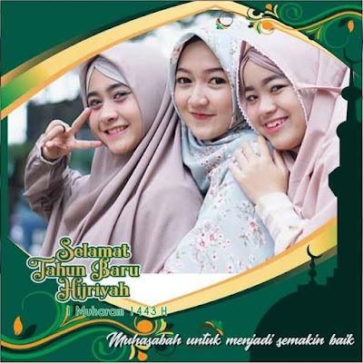 Bingkai Twibbon Tahun Baru Islam 01