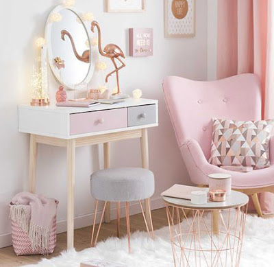 small dressing table design for bedroom of women