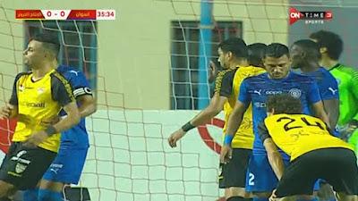 اهداف مباراة الانتاج الحربي واسوان (2-2) الدوري المصري