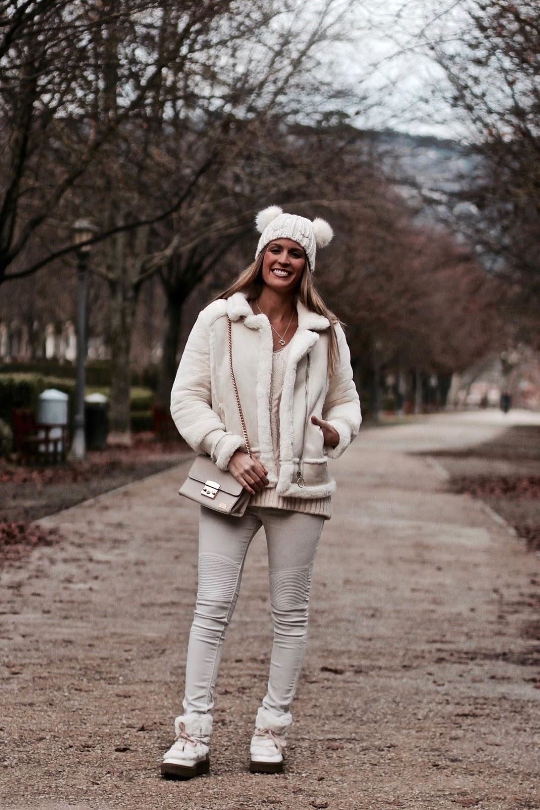 como llevar el blanco en invierno
