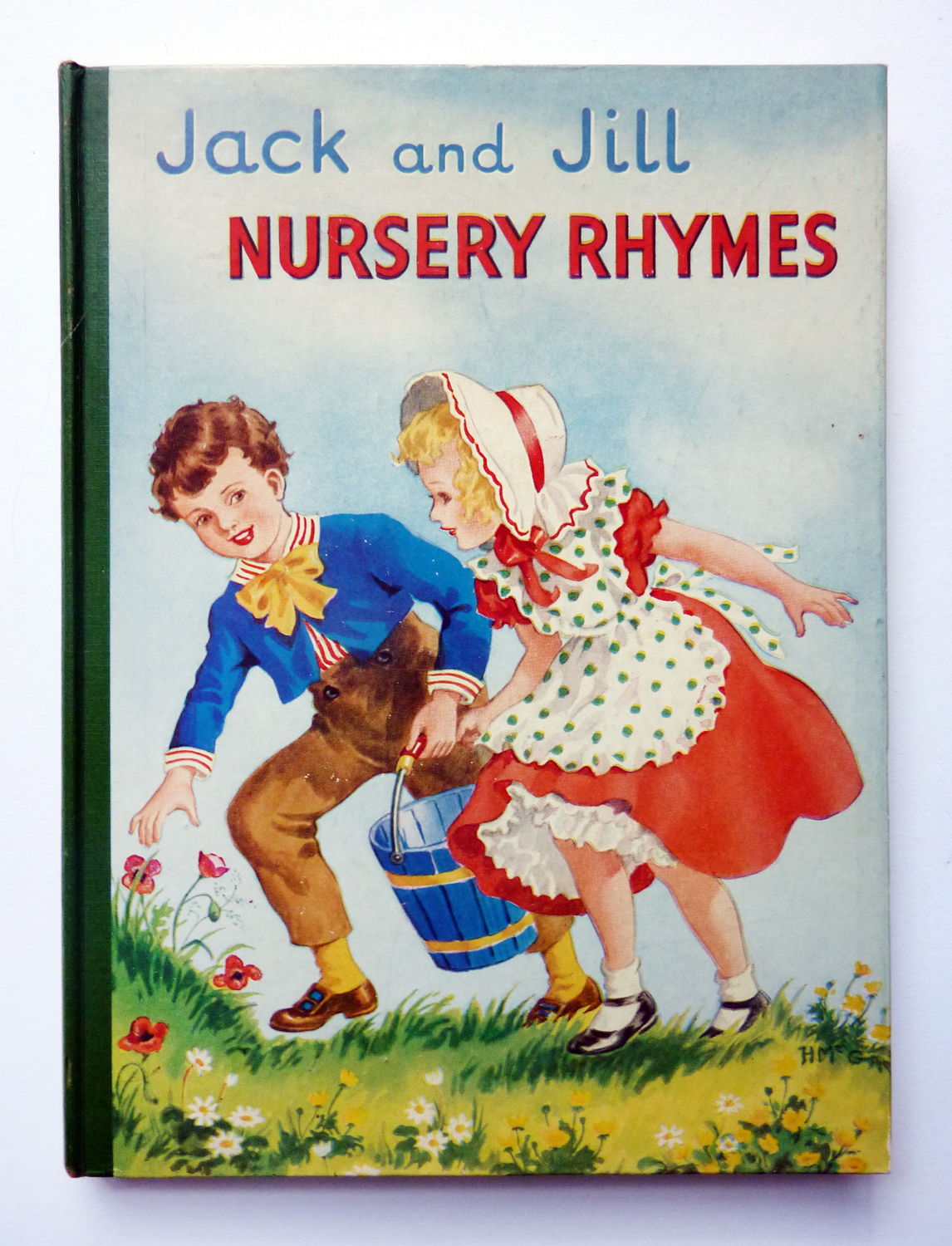 turning pages Jack and Jill  nursery rhymes