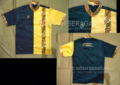 Indah seragam rohmatus sejahtera catering uniform for Baju uniform spa