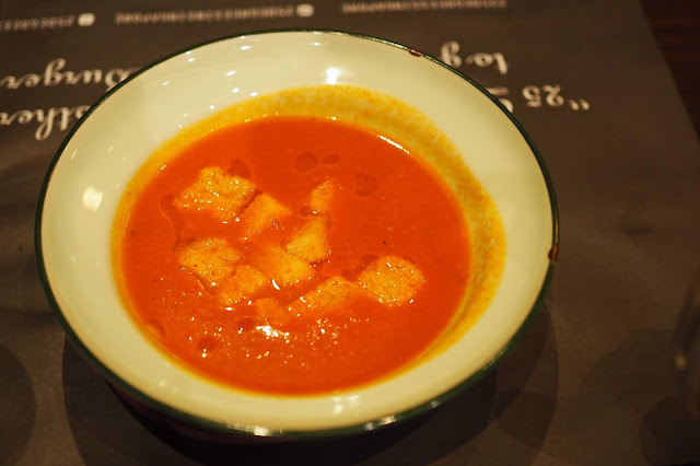 25 Degrees Singapore Tuscan Tomato Soup - S$6 (small) / S$9 (large)