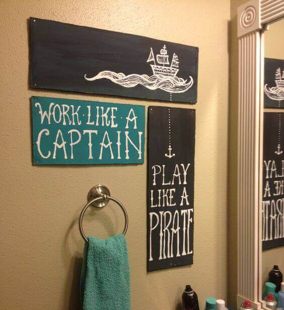 Work like a captain play like a pirate.