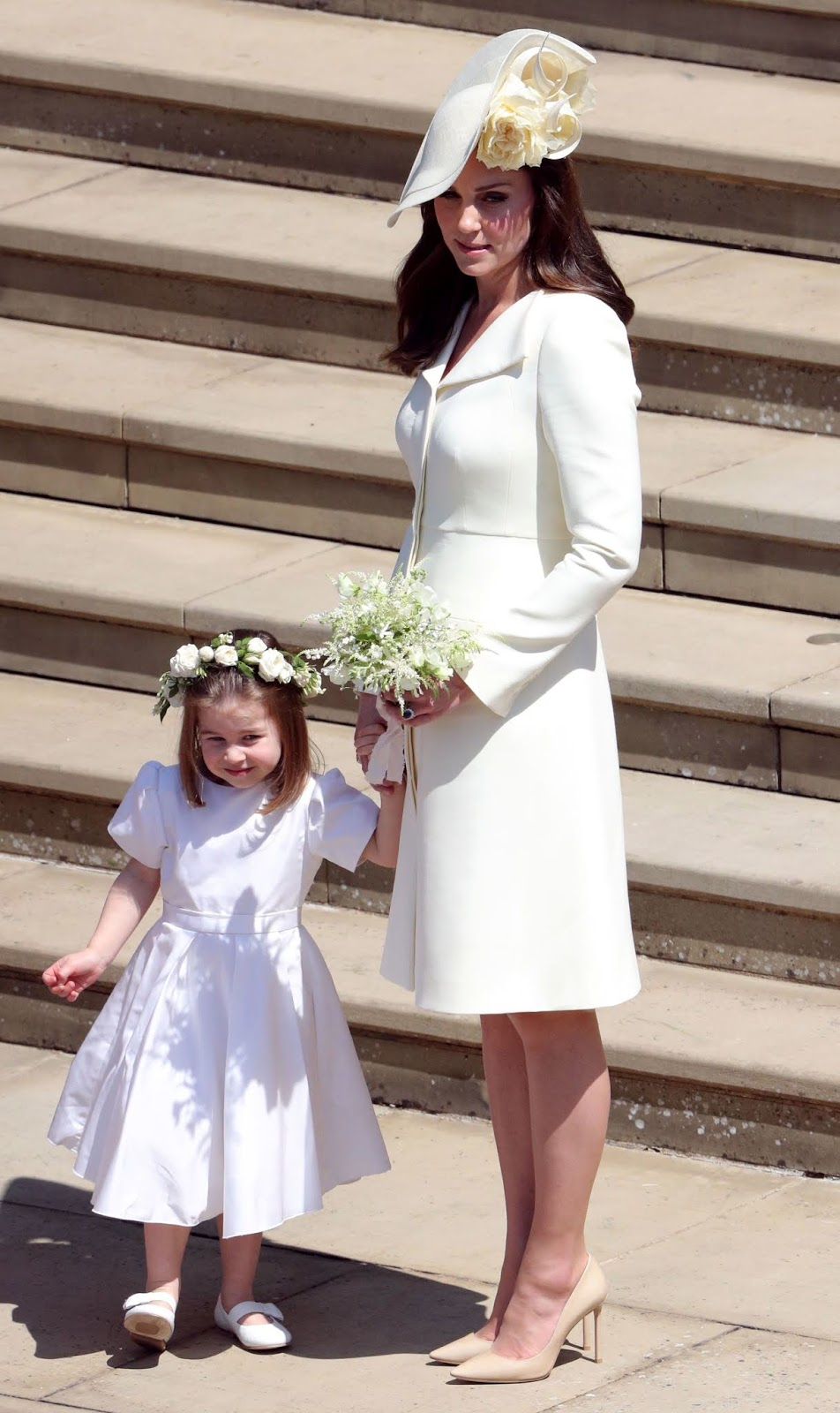 Princess Charlotte and Duchess Catherine