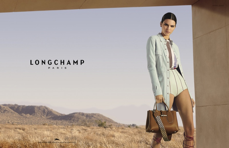 Kendall Jenner stars in Longchamp spring-summer 2020 campaign