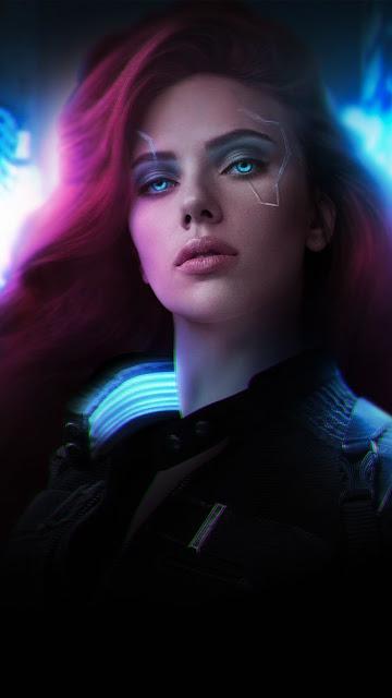 Black Widow Scarlett Johansson HD