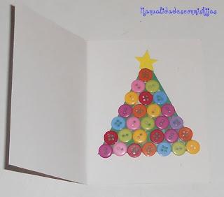 tarjeta-de-navidad-con-botones
