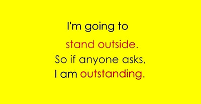 I am going to stand outside... www.funnyjokes.com