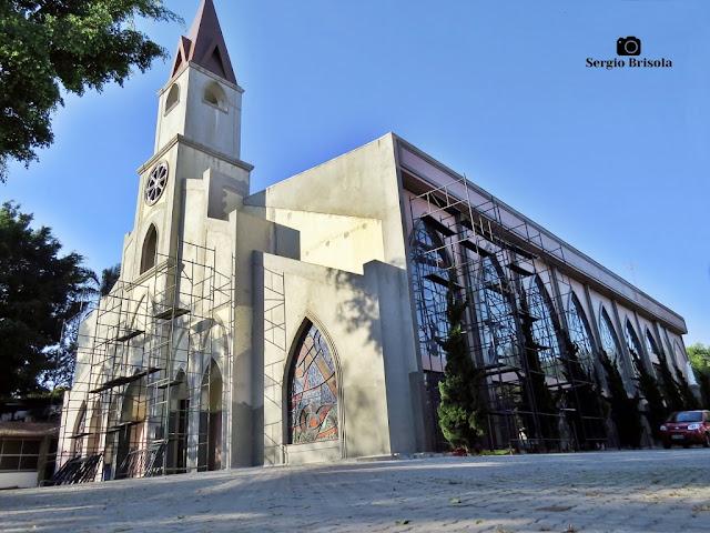 Vista ampla do Santuário Nossa Senhora de Fátima - Santo Amaro - São Paulo