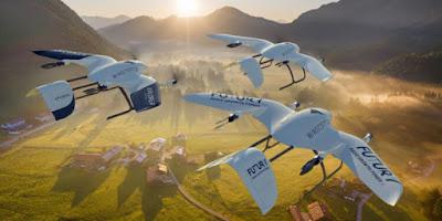 شركة وينج كوبتر Wingcopter الألمانية الناشئة
