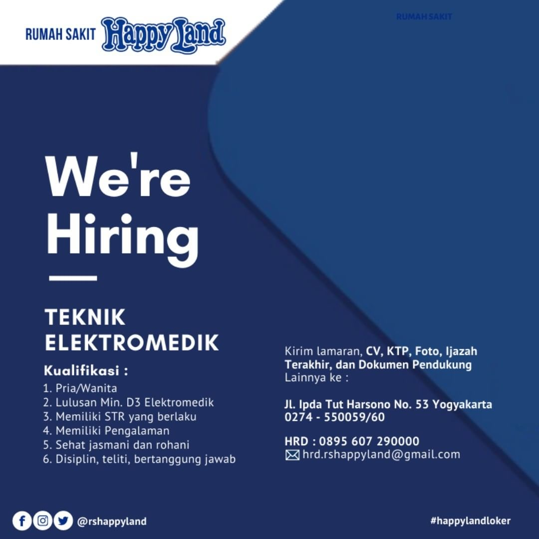 loker elektromedik rs happy land