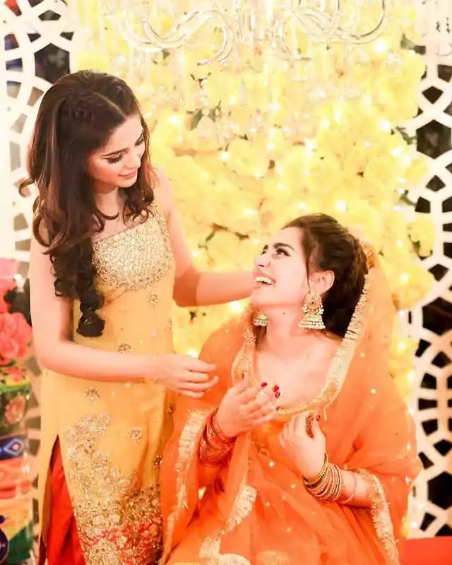 Aima Baig's Pictures From Sister Komal Baig's 'Mayun' Shine On Social Media