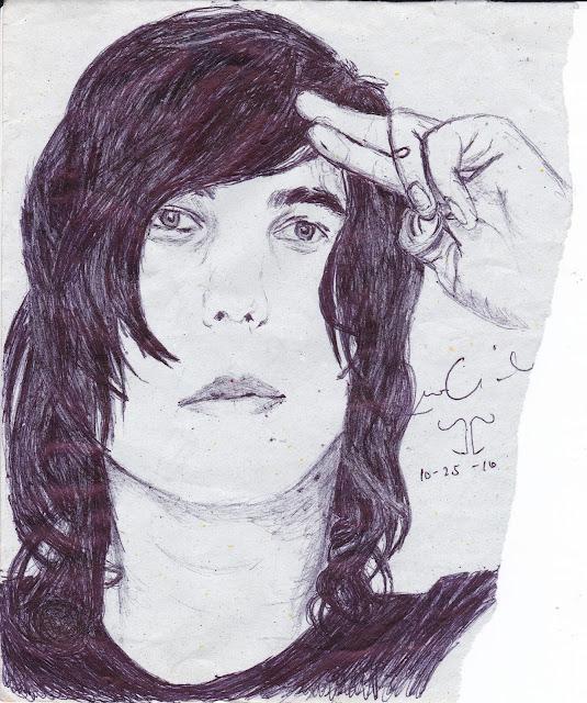 Kellin Quin Sketch