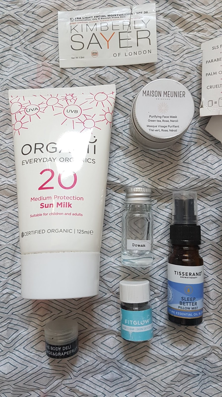 Green Beauty + Natural Wellbeing August Empties 2019