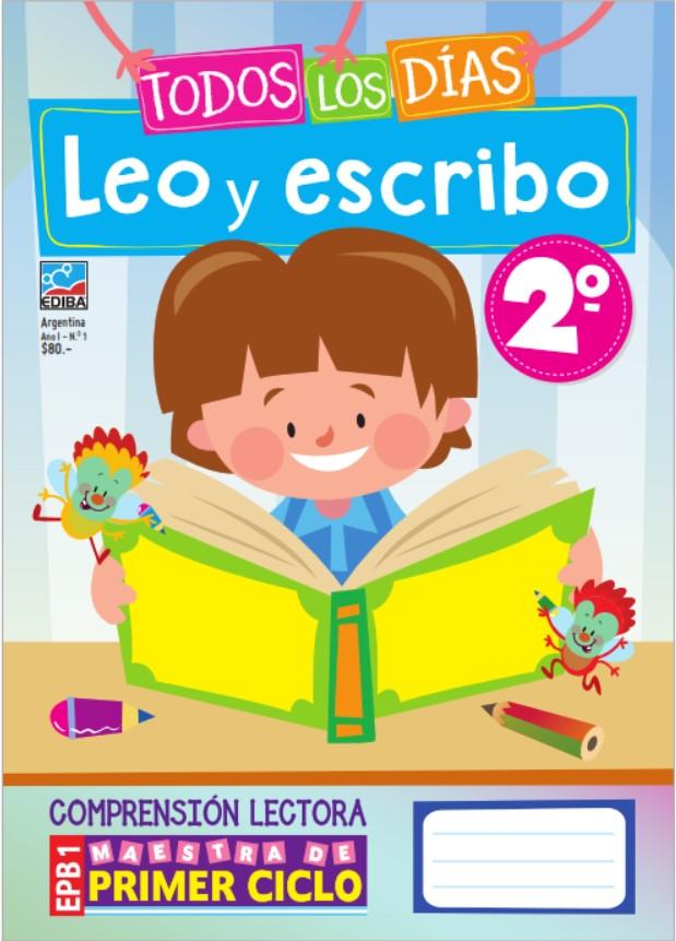 Todos los días leo y escribo 2 Cuadernillo de Comprensión Lectora