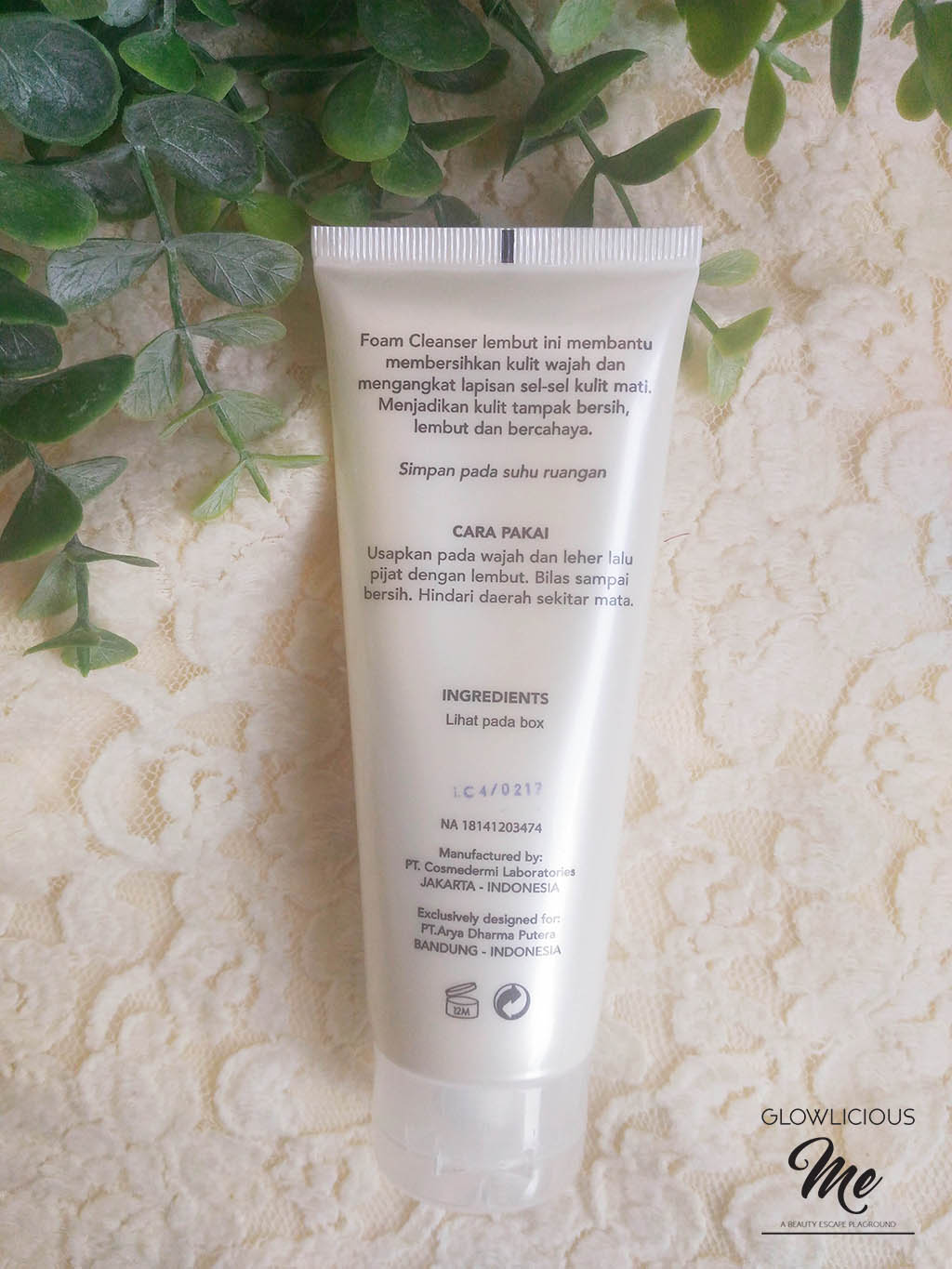 REVIEW LAVINE CLARITY FOAM CLEANSER 100G