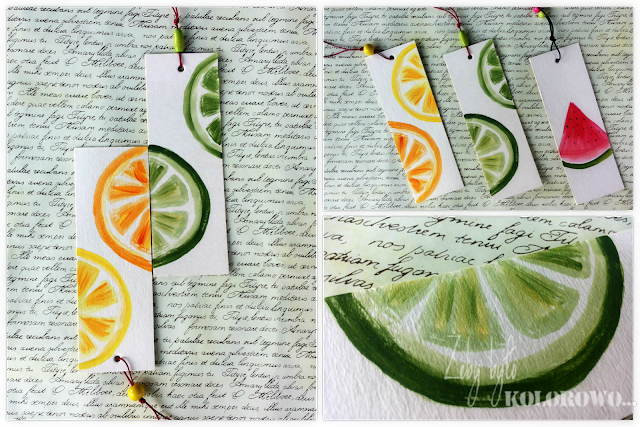 painting bookmark