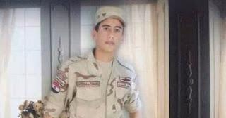 تعرف علي اخر امنية ل المجند الشهيد أحمد محمد على، قبل حادث رفح اليوم