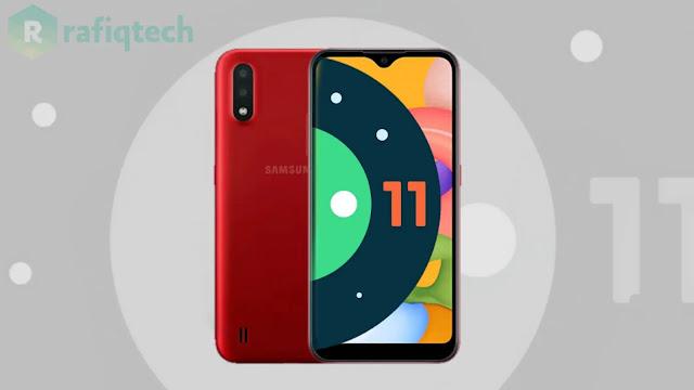 تحديث أندرويد 11 (One UI 3) لهاتف Samsung Galaxy A01 (مستقر)
