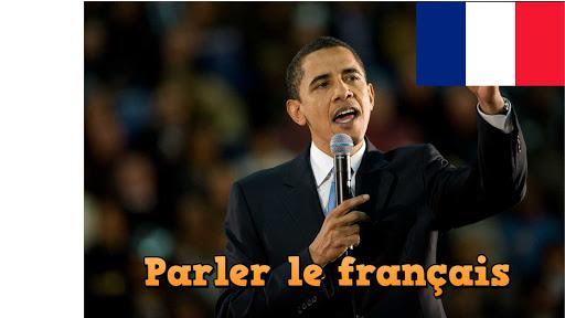 Obama parle le français