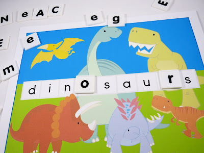 https://www.teacherspayteachers.com/Product/Dinosaur-Word-Building-Vocabulary-Posters-2914982