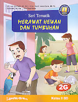 AJIBAYUSTORE  Judul Buku : Seri Tematik Merawat Hewan Dan Tumbuhan 2G Kelas II SD