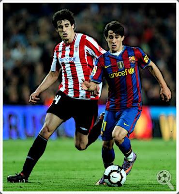 Javi Martínez Bojan Krkic Athletic Bilbao Barcelona