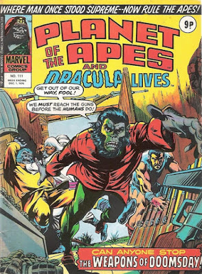 Marvel UK, Planet of the Apes #111, Battle for the Planet of the Apes