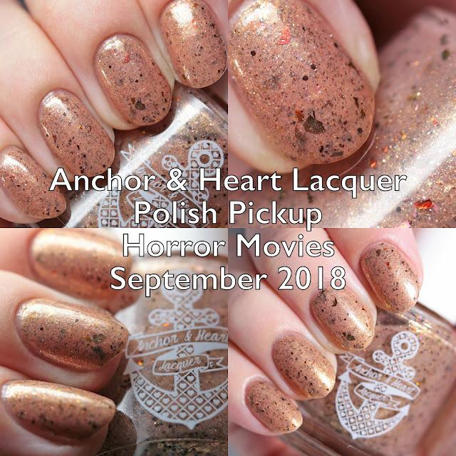 Anchor & Heart Lacquer Polish Pickup Horror Movies September 2018