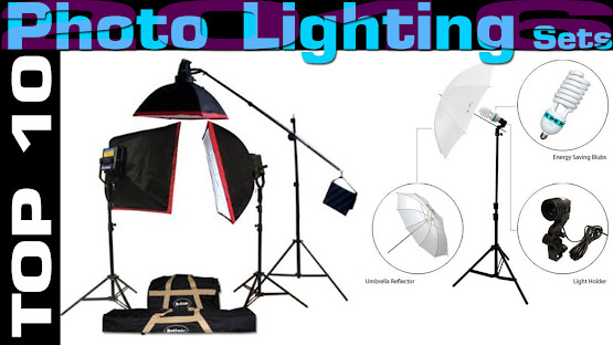 Top 10 Review Products-Top 10 Photo Lighting Sets 2016