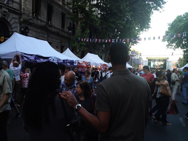 casal, pais, feira, festa, argentina
