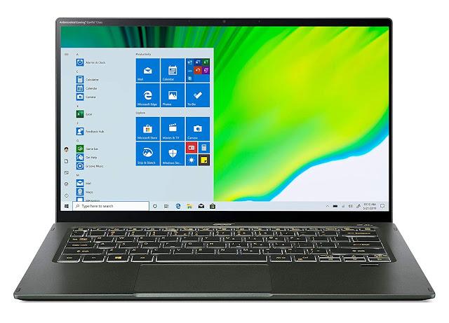 "Acer Swift 5 14"" Touchscreen, Intel i5 11th Gen/8GB RAM/512GB SSD/Win10"