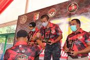 Kapolda Banten Raih Juara Kesatu Tembak Pistol VVIP Baladika Open Championship 2020 HPR 300 M