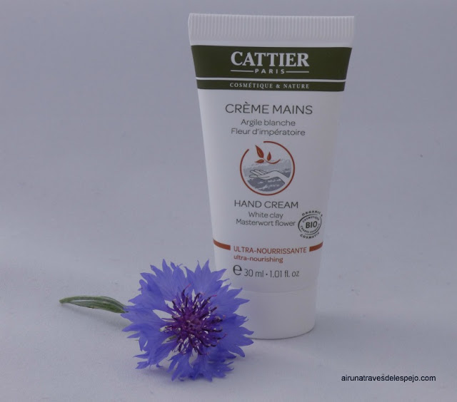 crema manos cattier cosmetica natural