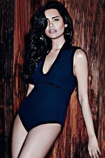 Esha Gupta In Black Bikini