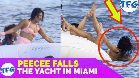Priyanka Chopra Falls From Yacht During Party