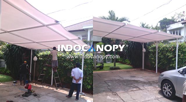jasa canopy membrane jawa barat