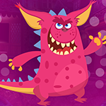 Games4King Pink Creature Escape