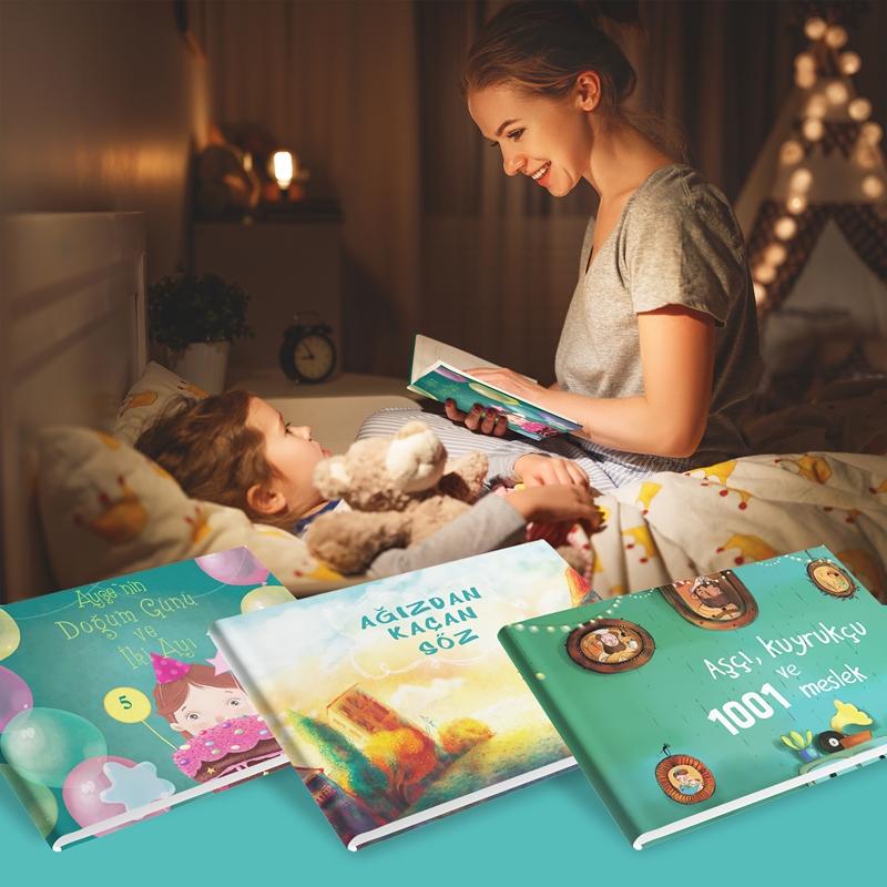 Kitap okumanın büyülü dünyasına girin!