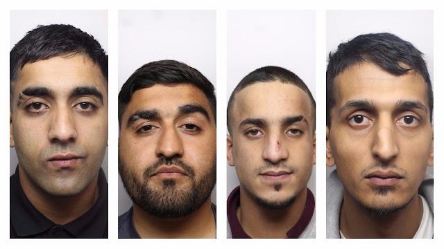 Four Bradford men jailed over drugs conspiracy