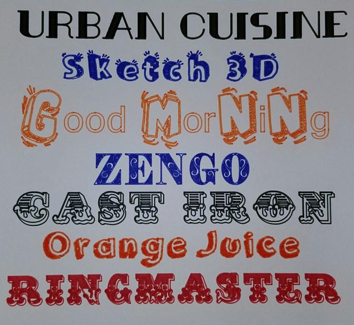 Single Line Fonts That Will Write Like Handwriting In Cricut