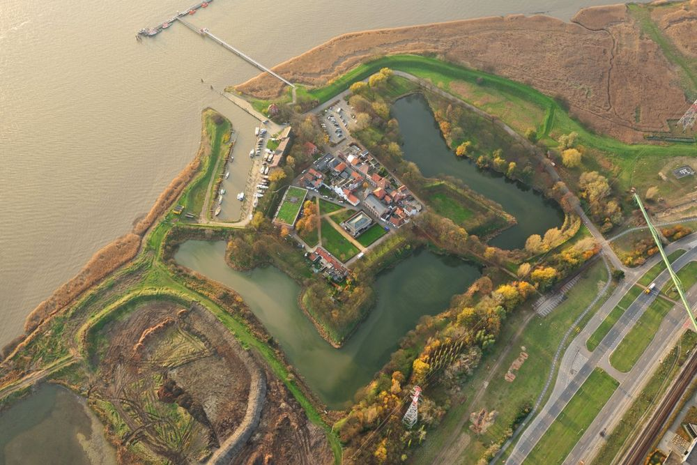 Fort Lillo by River Scheldt.