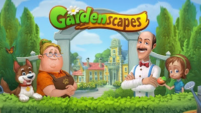 Download Game Gardenscapes MOD Unlimited Money 4.7.0