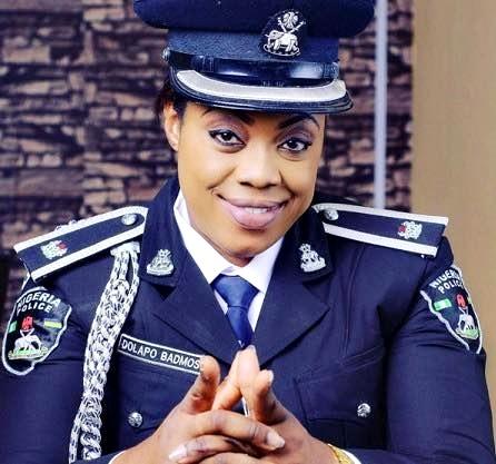 Too Beautiful for Police Job? Lagos Police Spokeswoman Celebrates Promotion with New Photos