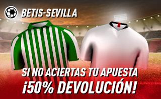sportium Promo liga derbi Betis vs Sevilla 10 noviembre 2019