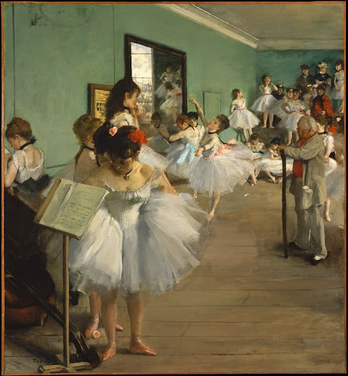 Degas. Born on this day in 1834 Edgar Degas was born on this day in 1834. This work,