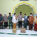 Direktur Logis bersama masyarakat Ganti Lombok Tengah menerima kunjungan Kapolda NTB