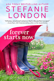 Book Review: Forever Starts Now by Stefanie London + Excerpt   About That Story